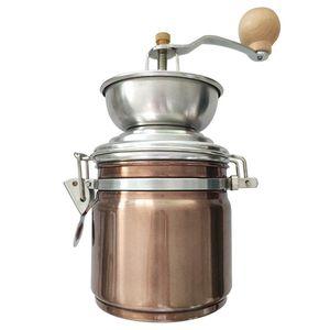 Cozinhar duráveis Beans Cozinha Multifuncional Burr moinho de café Grinder Mão Crank Handmade Casa Acessórios de aço inoxidável
