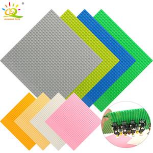 El color 8 32 * 32 puntos Placa Base de ladrillos pequeña placa de la placa base compatible figuras Legoing bricolaje Building Blocks juguetes para los niños