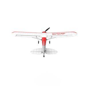 Volantex Sport Cub 500 761-4 500mm Wingspan RC Glider Airplane 4CH One-Key Aerobatic Beginner Trainer RTF Built In 6-Axis Gyro