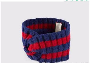 100% lana Croce fascia di alta qualità di marca elastico verde blu rosso Turbante Hairband per donne e uomini headwraps regalo