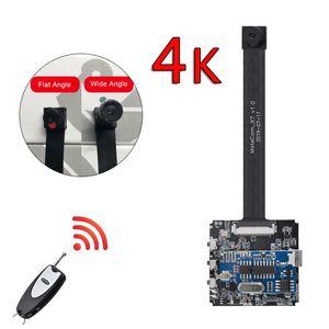 جهاز التحكم عن بعد للكشف عن الحركة تحكم ريال 2.7K 4K 1080P واي فاي P2P البسيطة كاميرا فيديو مسجل رقمي DIY الصغيرة كاميرا وحدة كاميرا الأمن