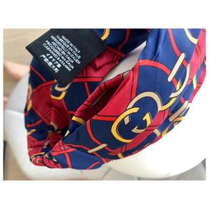 INS Kreuz elastischen Haar-Band Art und Weise gedruckte Stirnband für Frauen Sport Yoga Hair Bands Fitness Zubehör