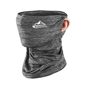 Ice Seta protezione solare Maschera asciugamani maschere unisex di estate in bicicletta multifunzionale Outdoor Sports prova della polvere antivento sciarpa capa IIA121