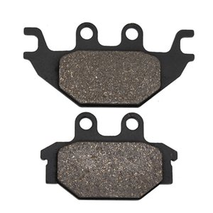 Cyleto Motorcycle Front and Rear Brake Pads for SYM Quadraider 600 2008-2013 Quadraider 600 LE 2010-2013