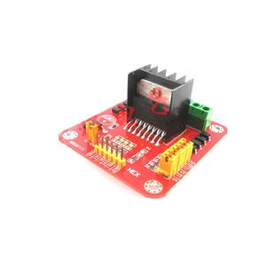 20W L298N 모터 드라이버 보드 L298N 스마트 자동차 로봇에 대한 모듈 스테퍼 모터 DC DC 모터
