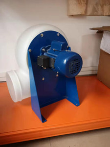 Lab Ventilation Centrifugal Blower PE Laboratory Fuming Cabinet Exhaust Centrifugal Fan