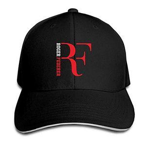 Disar-t Unisex Moda Ayarlanabilir Roger-Federer Rf Beyzbol Kapaklar Spor Açık Havada Yaz Şapka