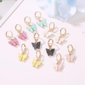 High Quality Cute Butterfly Earrings Street Style Drop Earrings Korean Fashion Dangle Earrings Jewelry for Women Gifts