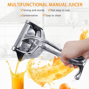 Stainless steel manual juicer Citrus Orange Lemon Fruits Squeezer portable household fruit crusher multifunctional kitchen tool