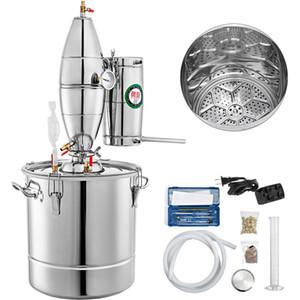 Grande Capacidade de aço inoxidável 70L Início álcool Distiller que faz a máquina Álcool Distiller Wine Moonshine caldeiraria