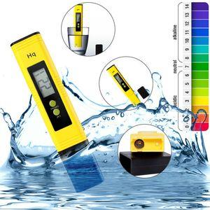 LCD PH الرقمية متر فاحص القلم حوض سباحة المياه النبيذ البول الرقم الهيدروجيني PH-2 02 احدث نوع بروتابلي القلم متر PH أقلام CCA11939 20PCS
