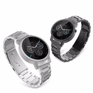 8mm 22mm 20mm 24mm Stainless Steel iwatch bands Strap For SAMSUNG Galaxy Watch 42 46mm GEAR S3 Active2 Classic quick release watch bands