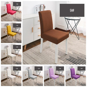 Wholesale Hotel Dining Chair Couvre Élastique Respirant Confortable Lavable Cover Cover Restaurant Mariages Banquet Chair Cover BC BH0634