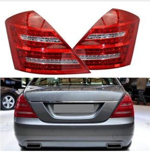 Fast Shipping LED Rear Tail Light for Mercedes-Benz W221 S-Class 2007 2008 2009 Signal Strop Braking Warnig Lamp Reflector Car