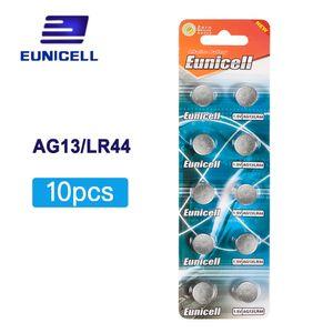 Baterias tipo botão Hot vender 10pcs AG13 ag 13 357A Pila LR44 SR44 LR44 lítio botão Coin Cell Battery 1.5V