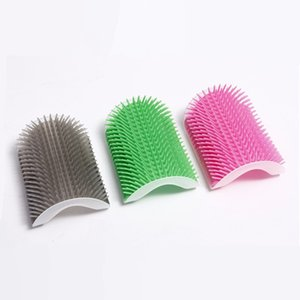Pet Products for Cats Brush Corner Cat Massage Self Groomer Comb Brush with Catnip Cat Rubs The Face with A Tickling Comb