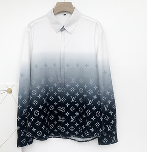 Brand New Paris Classic Men's Shirts High Quality Business Dress Casual Slim Fit Shirts Fashion Streetwear Mens Medusa Designer Shirts