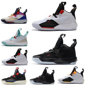 33 Chaussures de basket-ball pour hommes 33s PE Future Flight Guo Ailun Pack Tech Visible Blackout XXXIII Hommes Baskets de Sport 7 - 12 Drop Ship