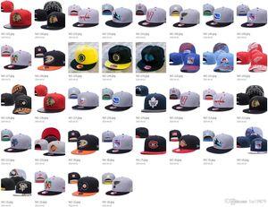 36 styles NHL Blackhawks Penguins Baseball Caps Flyers Sharks Bruins Maple Leafs men women sports gorras bones Snapback Hats