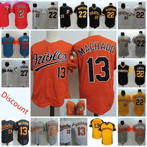 İndirim Erkek # 13 Manny Machado Balt Jersey 2 Brian Dozer Min # 22 McCutchen Andrew Pittsb 27 Giancarlo Stanton Mia Jersey