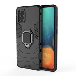 Coque de téléphone antichoc pour Samsung Galaxy S21 Ultra S20 Fe Remarque 20 A72 A52 A42 A32 A12 A12S A71 A51 5G A31 A21S Cas de protection A20S