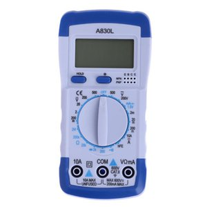 LCD Digital Multimeter DC AC Voltage Diode Freguency Voltage Current Capacitance Ohm Auto Manual Range Multimeter