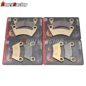 Motorcycle Front Rear Brake Pads For POLARIS ATV 400 Ranger 10-11 500 08-12 700 08-09 800 10-13 900 11-13 Ranger EV (Electric)