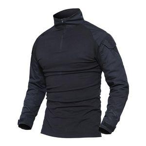 Tactical T camicia maschile camuffamento magliette Army Military Combat uomini maniche lunghe T Shirt Hunt T-shirt Abbigliamento Whfe-022-2 Trend