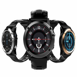 "H1 elegante GPS WIFI Bluetooth Watch Reloj de pulsera inteligente IP68 a prueba de agua 1,39"" OLED MTK6572 3G LTE SIM usable Dispositivos de reloj para el iPhone Android"