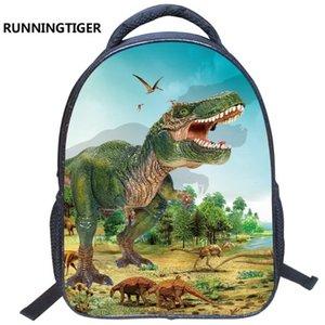 만화 공룡 인쇄 어린이 나일론 학교 가방 6 색 크기 36cmx30cmx13cm