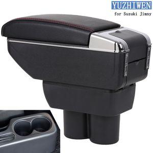 Для Suzuki Jimny подлокотник коробка Jimny2007-2018Universal автомобиль центральный подлокотник ящик для хранения подстаканник пепельница модификации аксессуары