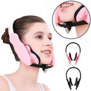 Massage With Pads Cheekbone Correction Mask Thin Belt Facial Slimming Face Lifting Instrument Device Adjustable Elastic Physical Shaping