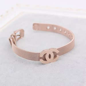 Top Quality Designer Bracelet Luxury Letter Bracelets Fashion Women Bracelets Titanium steel Jewelry Accessories Hot Sale