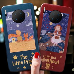 New Phone Cases for iPhone and Hua Wei Creative Cartoon Embossment Cellphone Cases Body Protection Dirt-resistant