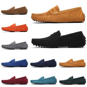 New Shoes non-progettista di marca fannulloni dello slip-on degli uomini Casual Scarpe scarpe da ginnastica mens vestito epoca Triple Nero Verde 38-47 Style 9