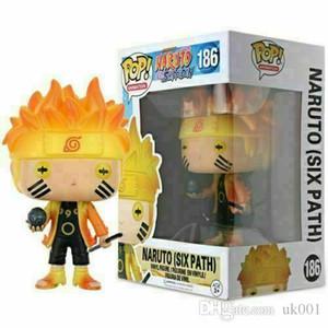 US Naruto (Six Path) # 186 Funko Pop Figura de Vinil NARUTO Shippuden Presente de Brinquedo de Natal