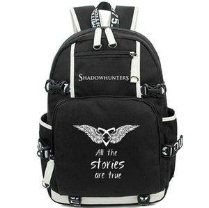 Shadowhunters zaino cacciatori dell'ombra zainetto Storie vere giorno pacchetto sacchetto di scuola zainetto tempo libero zaino Sport Outdoor