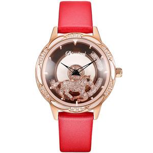 Top Marque Femmes Montres Dimini Mode Quartz Avslappnad Montre étanche Montre-bracelet Horloge