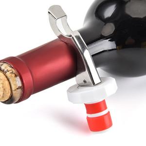 스테인레스 스틸 병 마개 실리콘 레드 와인 마개 맥주 병 오프너 휴대용 인기있는 뜨거운 판매 2019 1 9fl J1