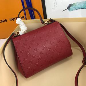 2020Top qualité ladies'handbags sacs à main ladies'formal mode classique sacs messenger taille 25 * 19 * 10cm M41496