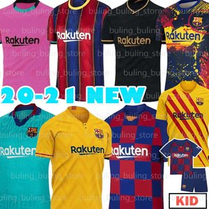 20 21 Barcelona de fútbol camisetas de fútbol Jersey 10 Messi ANSU FATI F.DE JONG 17 Griezmann 2020 2021 COUTINHO SUAREZ MALCOM PIQUÉ VIDAL