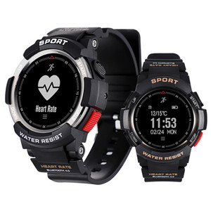 F6 Smart Watch IP68 Water Bluetooth Smart Swarch Dynamic Heart Rate Monitor Sports Smart Wristwatch For Android IOS iPhone Watch