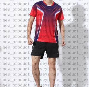 23 Badminton indossare una coppia di 45 modelli 6861 T-shirt 13 a maniche corte 25 stampe abbinate a colori ad asciugatura rapida non sbiadite tennis da tavolo 35 abbigliamento sportivo