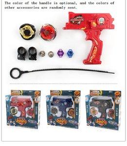 Beyblade Top Oyuncaklar İçin Çocuk Boys Spinning Seti Oyuncak Bey Blade Metal Fusion Oyuncak Dual depar Burst