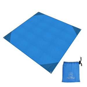 Compact Moistureproof Yoga Folding Ultralight Camping Garden Pad Portable Waterproof Picnic Mat Seat Outdoor Beach Blanket