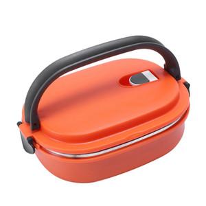 Yüksek Kalite Yalıtımlı Lunch Box Gıda Saklama kabı Termo Isı Turuncu