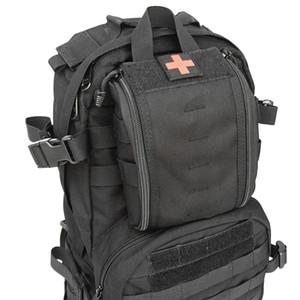 1000D Molle Tactical Verbandskästen Utility Medical Zubehörtasche Outdoor Jagd Wandern Überleben Modular Medic Bag Pouch