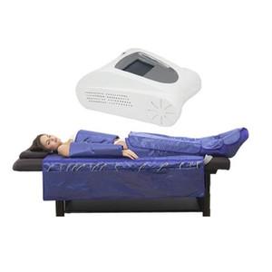 3 en 1 ems infrarrojo lejano presoterapia adelgazante máquina de drenaje linfático