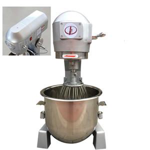 pan comercial 30L y la máquina de fideos de acero inoxidable máquina de amasado hogar amasando máquina mezcladora equipo de cocina pan a la venta