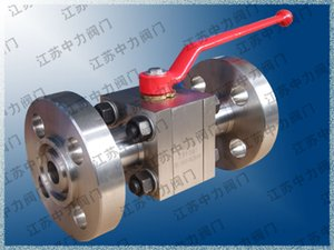 CNG natural gas stainless steel flange ball valve